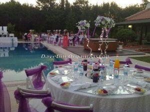 düğün mekan süsleme