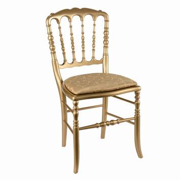 Altın Rengi Napolyon Sandalye