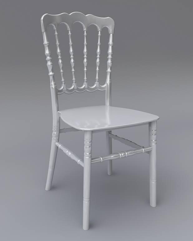 Gümüş Napolyon Sandalye